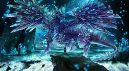 ice crystal dragonDragons Picture 178