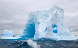 Antarctica Blue Ice WallpaperiBackgroundWallpaper 1154