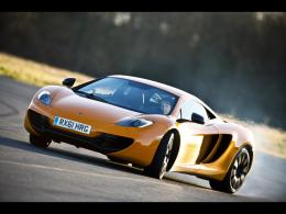 McLaren MP4 12C GT3 2012 Wallpaper orange Seite 653