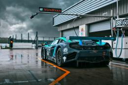Wallpapers mclaren, mp4 12c, gt3, von ryan racing, a wet track, the 240