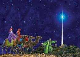 Was Jupiter the Star of Wonder that Guided the Three Wise Men to 736