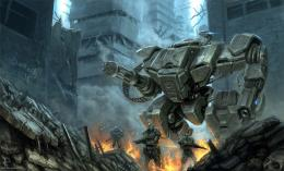 Keywords: heavy armored battle war mechs mecha video game robot 180