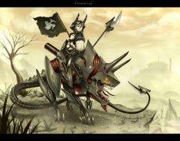Girl and war mech doom anime zoids wallpaper 771