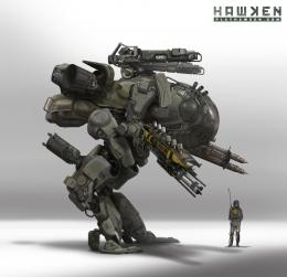 "Concept Design Academy: ""Art of Hawken: Mech Design\"" this Saturday~!! 168"