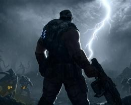 Gears Of War 3 Game Lightning Hd Wallpaper | Wallpaper List 1221