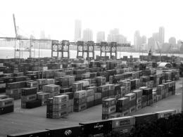 Port of Miami, shipping containers, the greener bench blog 300