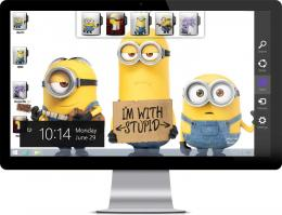 Minion wallpapersLogon screen wallpaper automatically change during 415