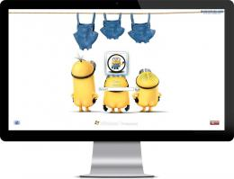 you are a Minion fan, try this theme nowIt free and works on Windows 1330