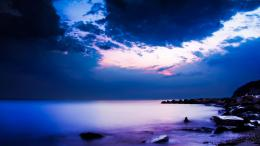 download seashore in dusk wallpaper in nature wallpapers with all 1047