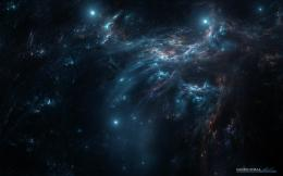 Outer space stars nebulae wallpaper background 879