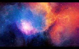 outer space stars nebulae artwork Tyler Young wallpaper background 1460