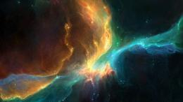 Outer space colorful stars nebulae wallpaper | Wallpapers 311