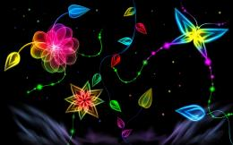 wonderful neon lights wallpaper 572