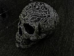 Neon Skull by Brynios on DeviantArt 1529