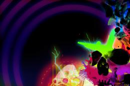 Neon Skull by partyboy9289 on DeviantArt 1916