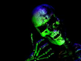 Skull Bones Neon Light Dead Abstract hd wallpaper #1389370 1660