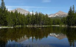 Serene mountain lake Wallpaper | Wallpaper Glass 1592