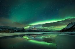 Northern Lights Reflection 335
