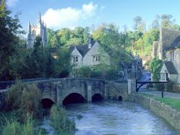 Castle Combe Cotswolds EnglandEngland Photography Desktop 774