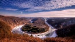 The River Saar In France Hd Wallpaper | Wallpaper List 651