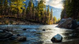 Download Peaceful river view wallpaper in Nature wallpapers with all 624