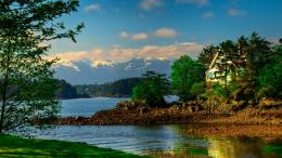 Download Peaceful river in Sitka wallpaper in Nature wallpapers with 1879