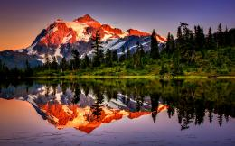 Mountain Reflection WallpaperHd Desktop Wallpaper 612