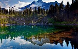 Perfect reflection in the clear lake Wallpaper #18588 1631