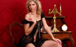 Download Beauty girl in lace dress wallpaper in People wallpapers with 411