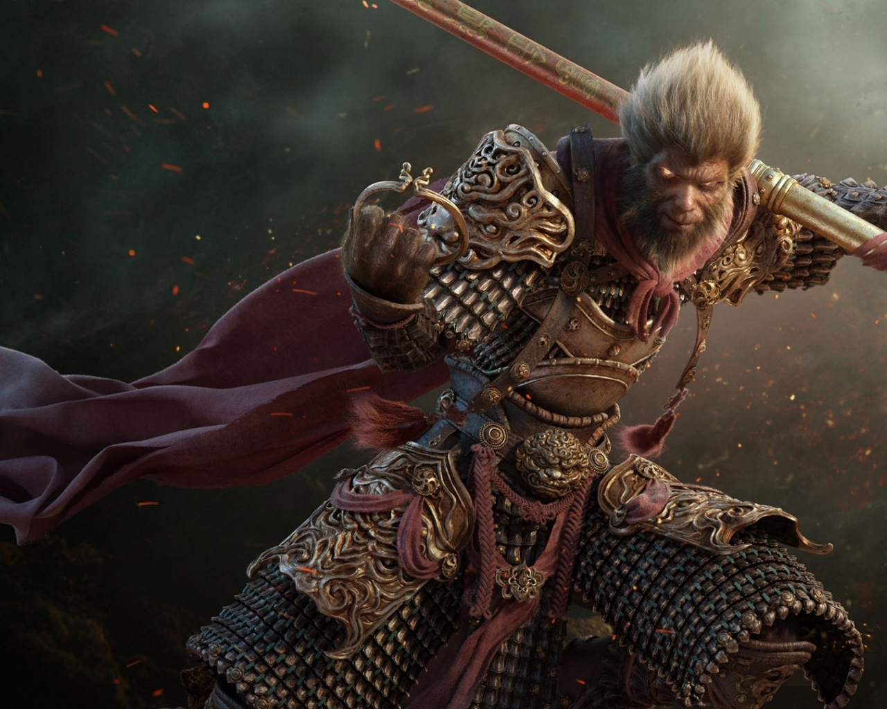 3d Wukong The Monkey King Hd Wallpaper | Wallpaper List 1055