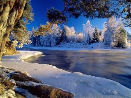 Best River Nature Snow Wallpaper | Wallpaper ME 913