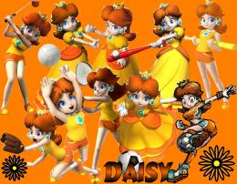 Princess Daisy Party Sports WallpaperPrincess Daisy Photo18464026 350
