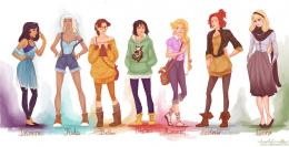 fashion princesses P2 by viria13 on DeviantArt 482