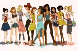 Modern Disney Princesses by Twilight Kairi on DeviantArt 913