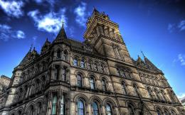 Manchester City Hall Hdr Hd Wallpaper | Wallpaper List 1477