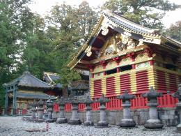red painted temples buildings in the nikko world heritage temple 785