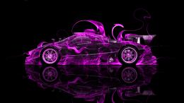 Pagani Zonda R Side Fire Abstract Car 2014 « el Tony 1632