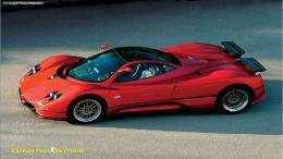 Red Pagani Zonda Background CS 1 6 :: CS GUI | CS 1 6 GUI | Counter 1985