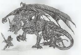 Roaring Dragon by MordredhArt on DeviantArt 772