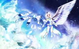 Half angel half robot girl wallpaper #19911 301
