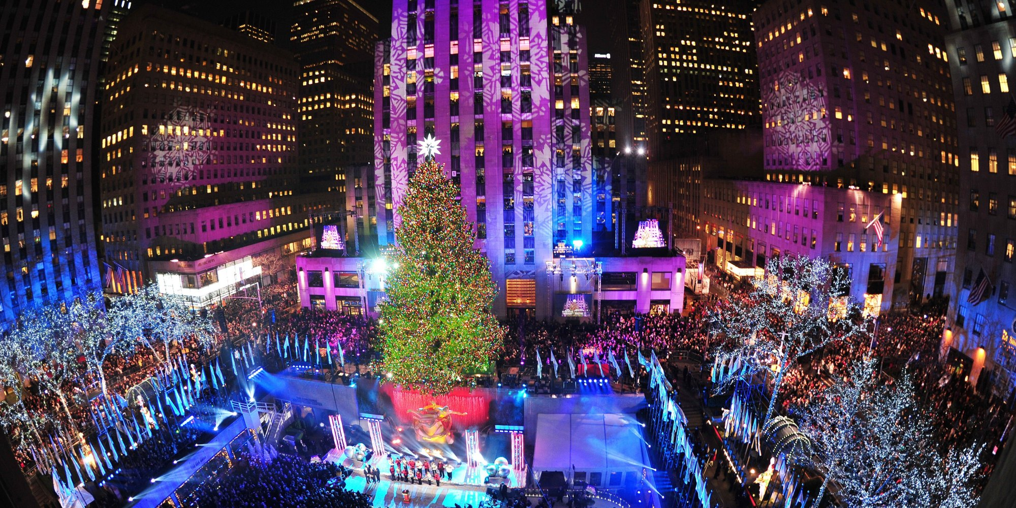 Rockefeller Center Christmas Tree Lights UpPHOTOS 1538