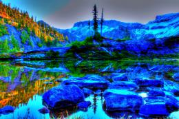lake in washington scenery rocks hdr nature hd wallpaper 1603830 jpg 380