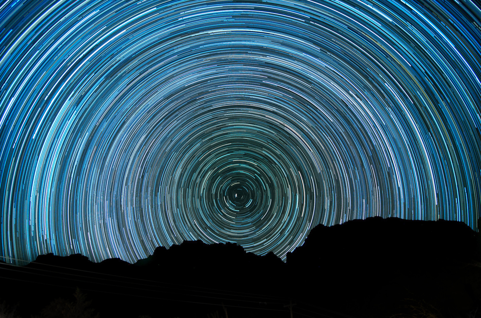 Home star Polaris Star Trail in Big Bend National Park by Costa1973 in 307
