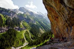 Scenic Village in the Swiss Alps: GimmelwaldTourism on the Edge 1840
