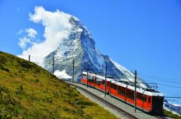 are here: Home » Cosmos » Switzerland » Scenic Switzerland By Train 1555