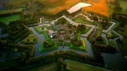Fort Bourtange, Netherlands© Amos Chapple Rex FeaturesBing United 412