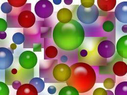 Colorful Bubbles Squares Background Free Stock Photo HDPublic 894