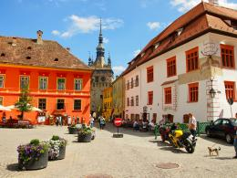 Sighisoara for Pinterest 1405