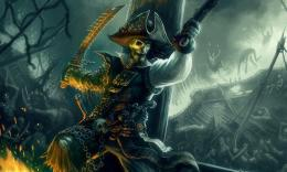 Download Skeleton pirate wallpaper in 3DAbstract wallpapers with 639
