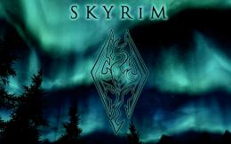 Skyrim Wallpaper Night Sky 505
